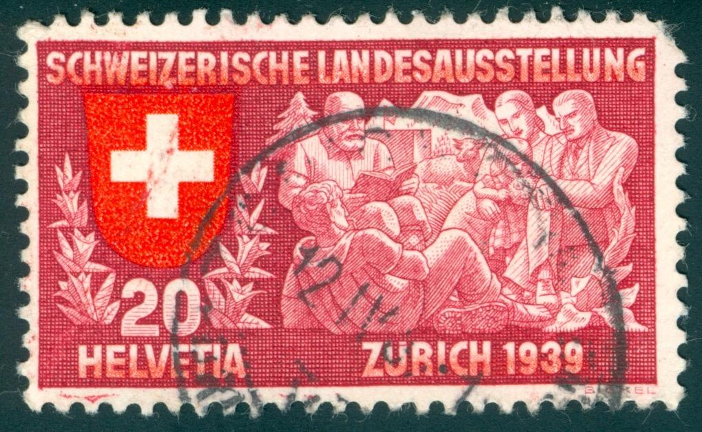 SBK 220 (Mi 336) Geistiges Leben, deutsch Roter_11