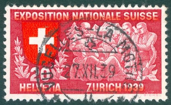 Vugelles-La Mothe VD - 122 Einwohner Stempe17