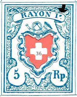 Rayon I hellblau - Fälschung? Typent10