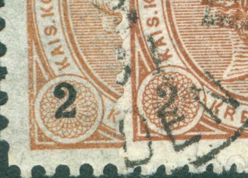 Die Freimarkenausgabe 1890 Ziffer13