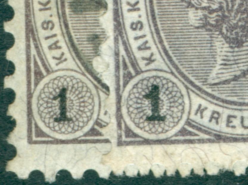 Die Freimarkenausgabe 1890 Ziffer14