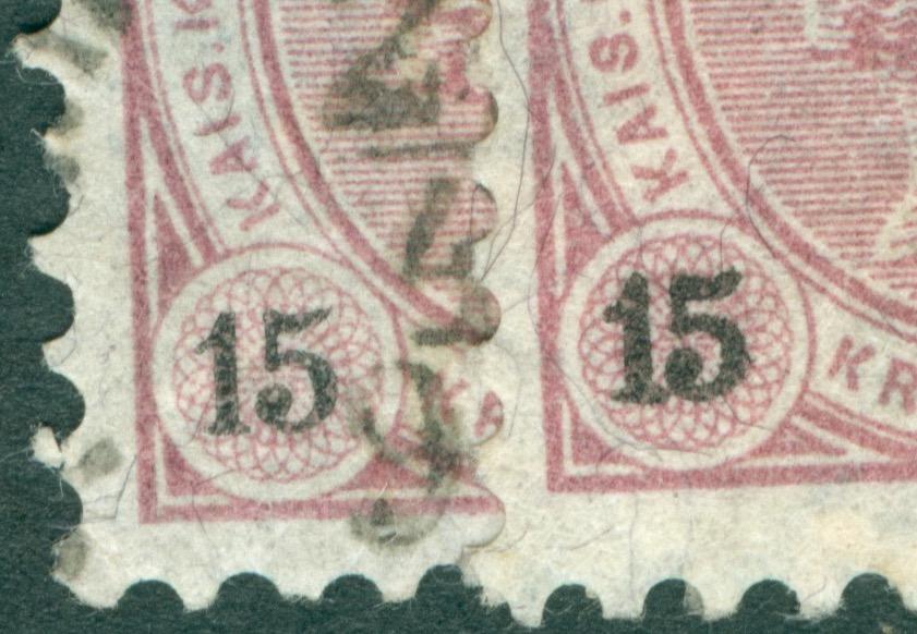 Die Freimarkenausgabe 1890 Ziffer15