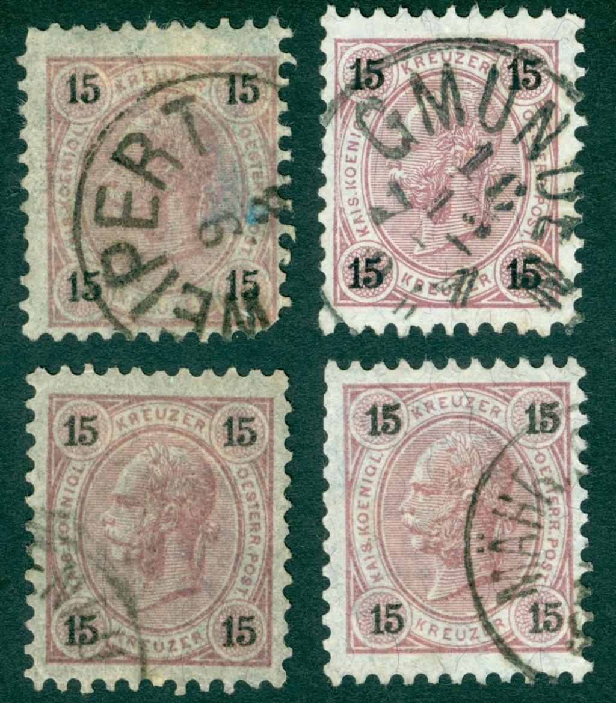 Die Freimarkenausgabe 1890 Ziffer16