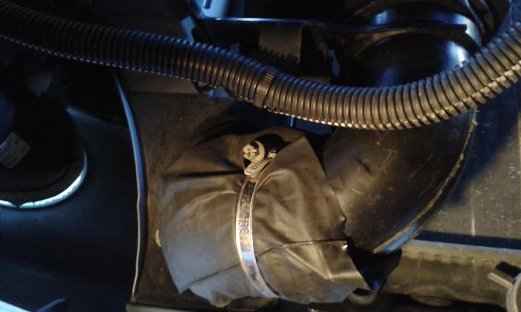 PAP-F1 - Modification de la boite à air d'origine. 20200217