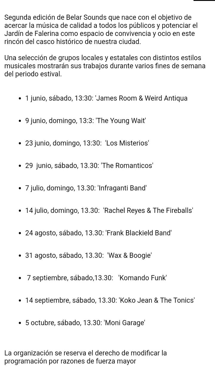 Kontzertuak Gasteizen eta Araban. Conciertos en Vitoria y Alava - Página 7 20190813