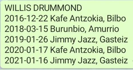 Willis Drummond (fugazi soundgarden berritxarrak pearljam) - Página 13 20210112
