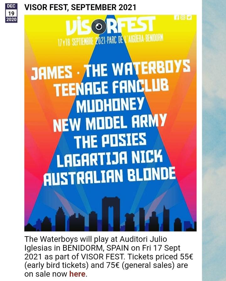 Azkena Rock Festival 2021. 17-18-19-Junio!!! 3 días. Iggy Pop!!!!. Black Mountain, Brian Wilson, Fu Manchu, L7, Patti Smith, Social Distortion.... - Página 10 20210531