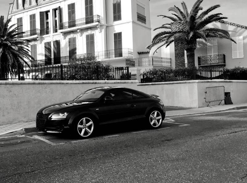 """Votes - Concours Photo """"TT en noir & blanc""""  Audi_t10"""