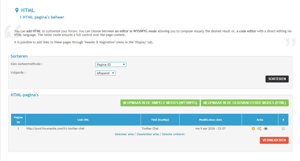 Gebruik HTML-pagina's en iframes op uw forum Html_p10