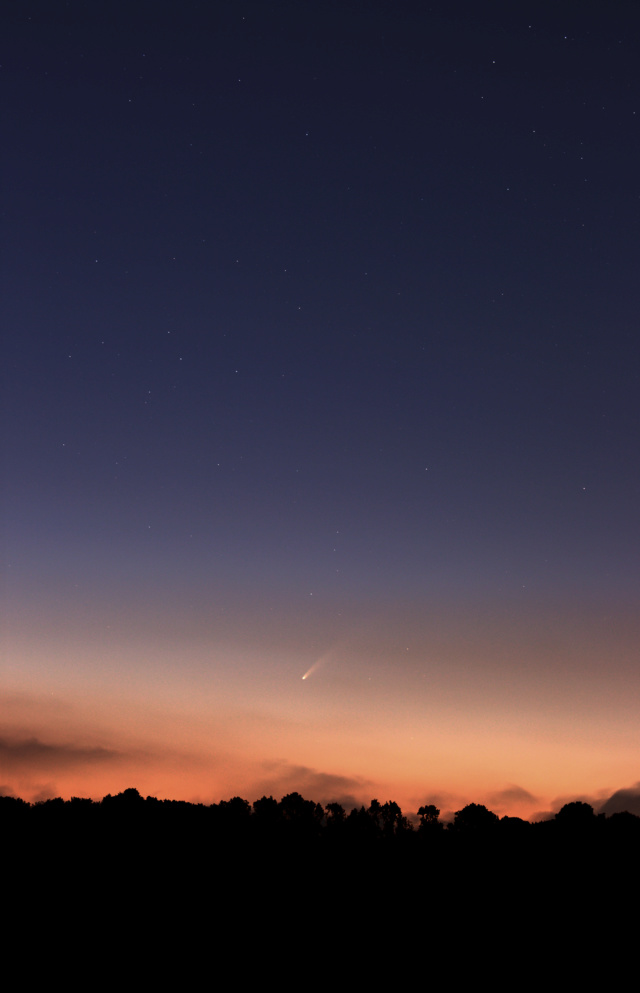 Comète Neowise C/2020 F3 510