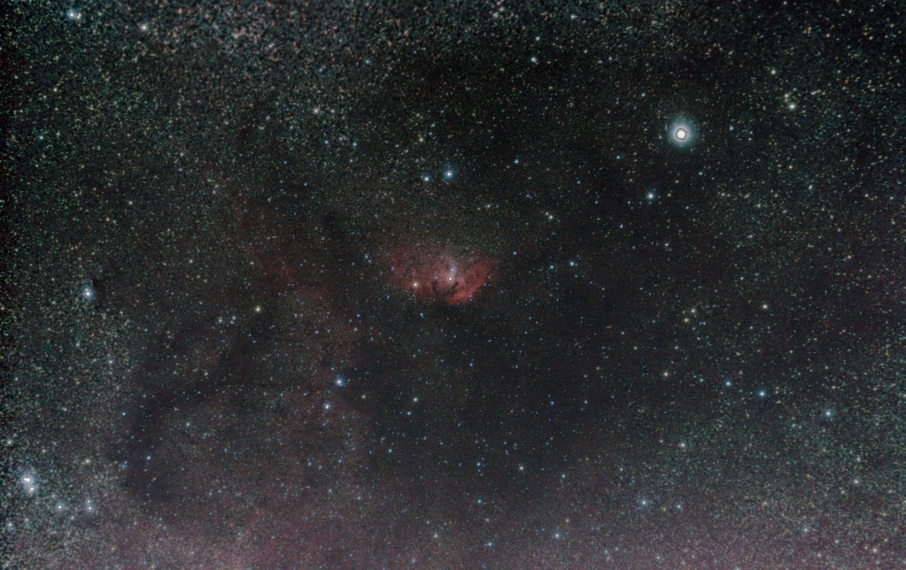Sh2-101, la tulipe cosmique Sh2-1011