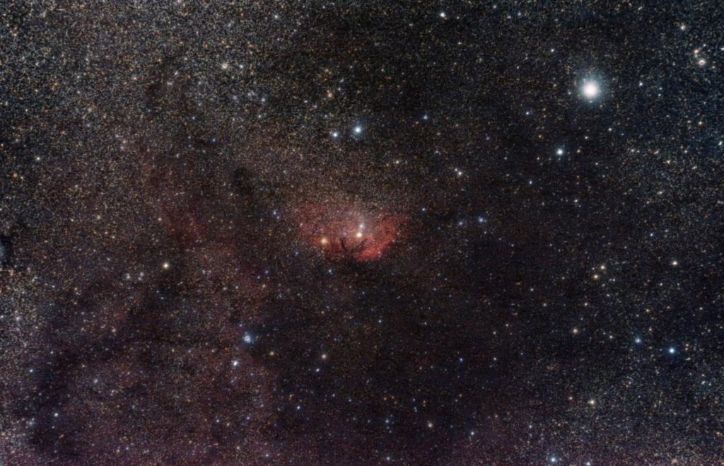 Sh2-101, la tulipe cosmique Sh2-1014