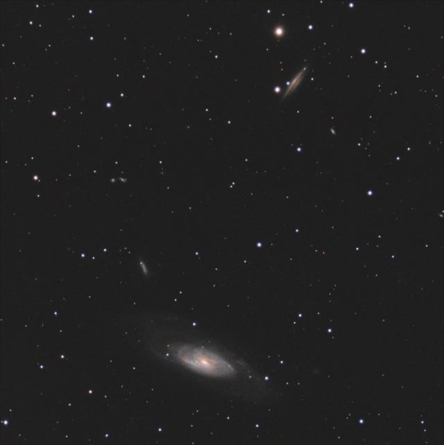 Zoom sur M106 Test112