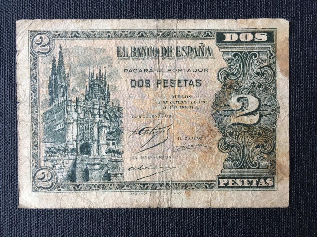 2 pesetas 1937 serie B. Para control estadístico y valoración de conservación. Img_0012