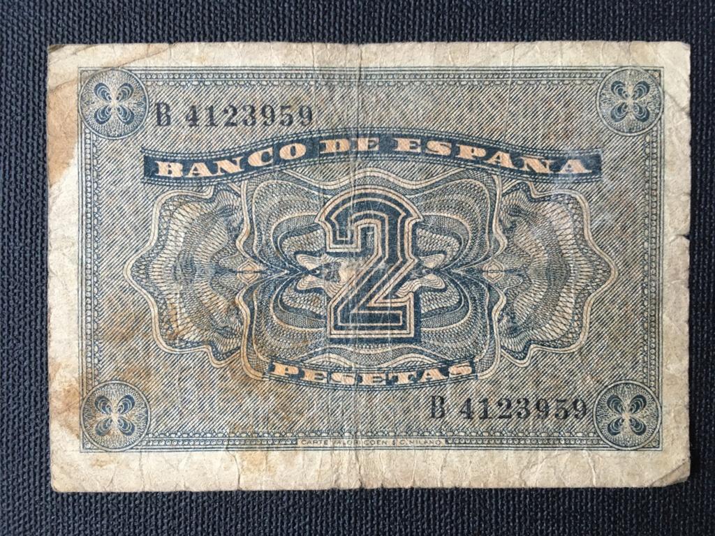 2 pesetas 1937 serie B. Para control estadístico y valoración de conservación. Img_0013