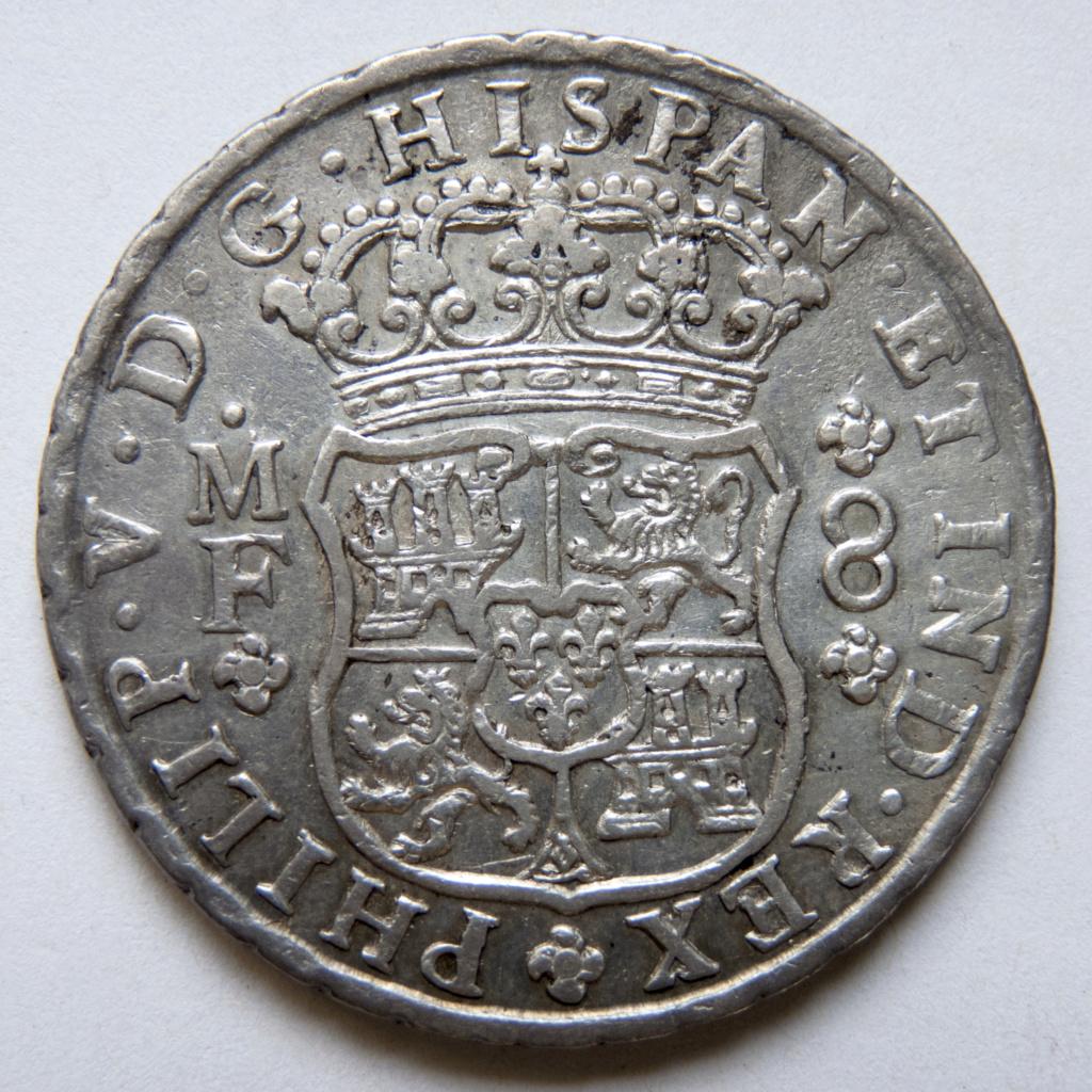 8 reales 1746 México. Opiniones P1030519
