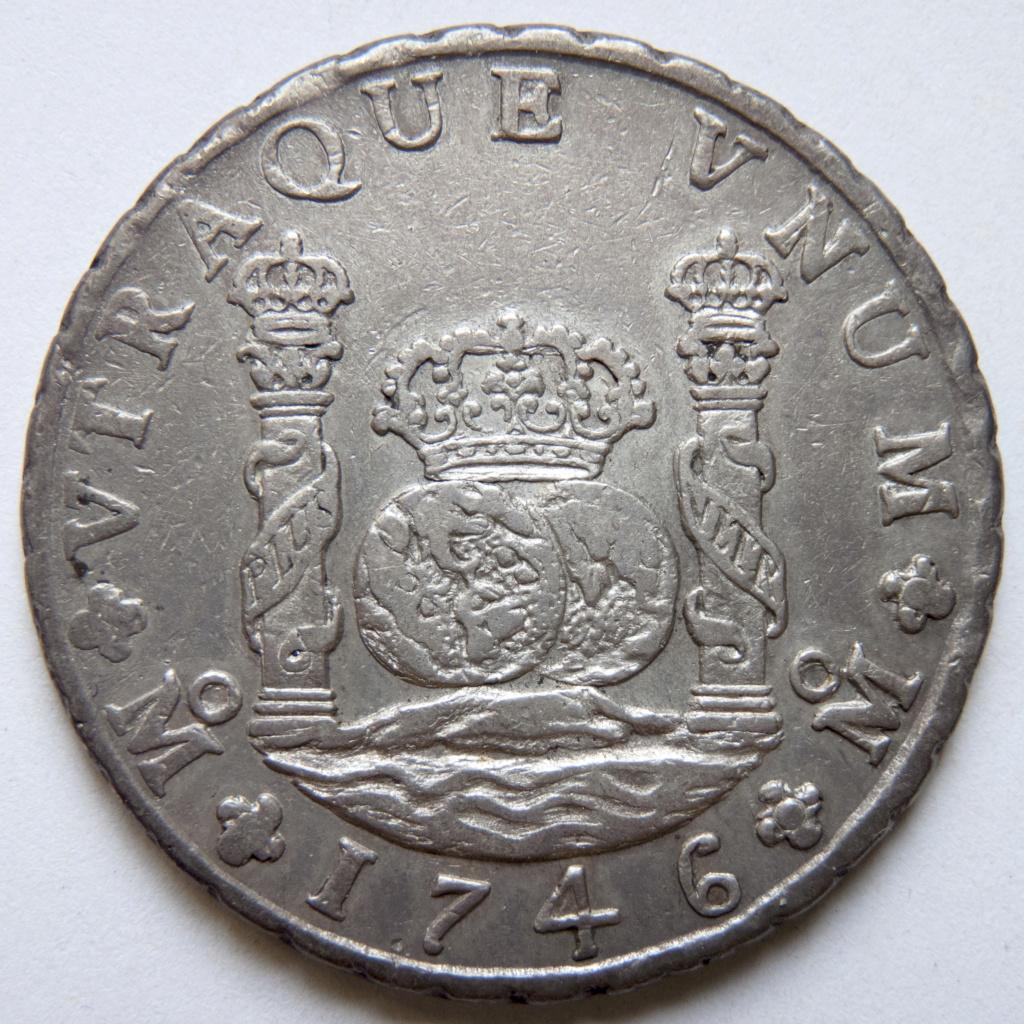 8 reales 1746 México. Opiniones P1030520