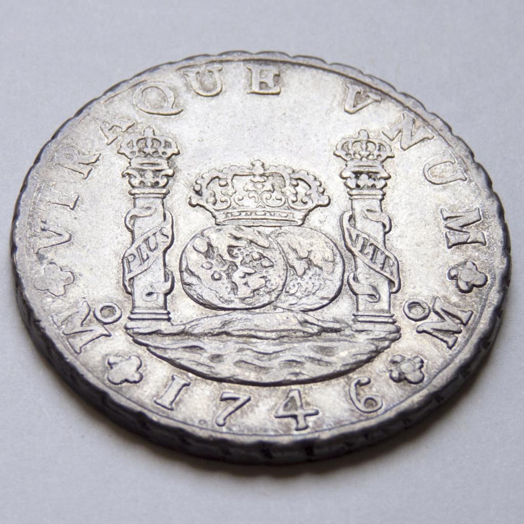 8 reales 1746 México. Opiniones P1030523
