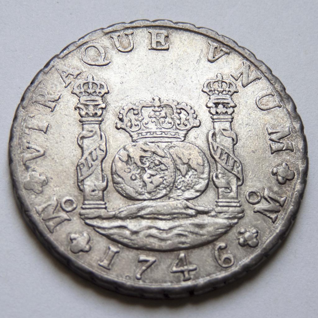 8 reales 1746 México. Opiniones P1030524