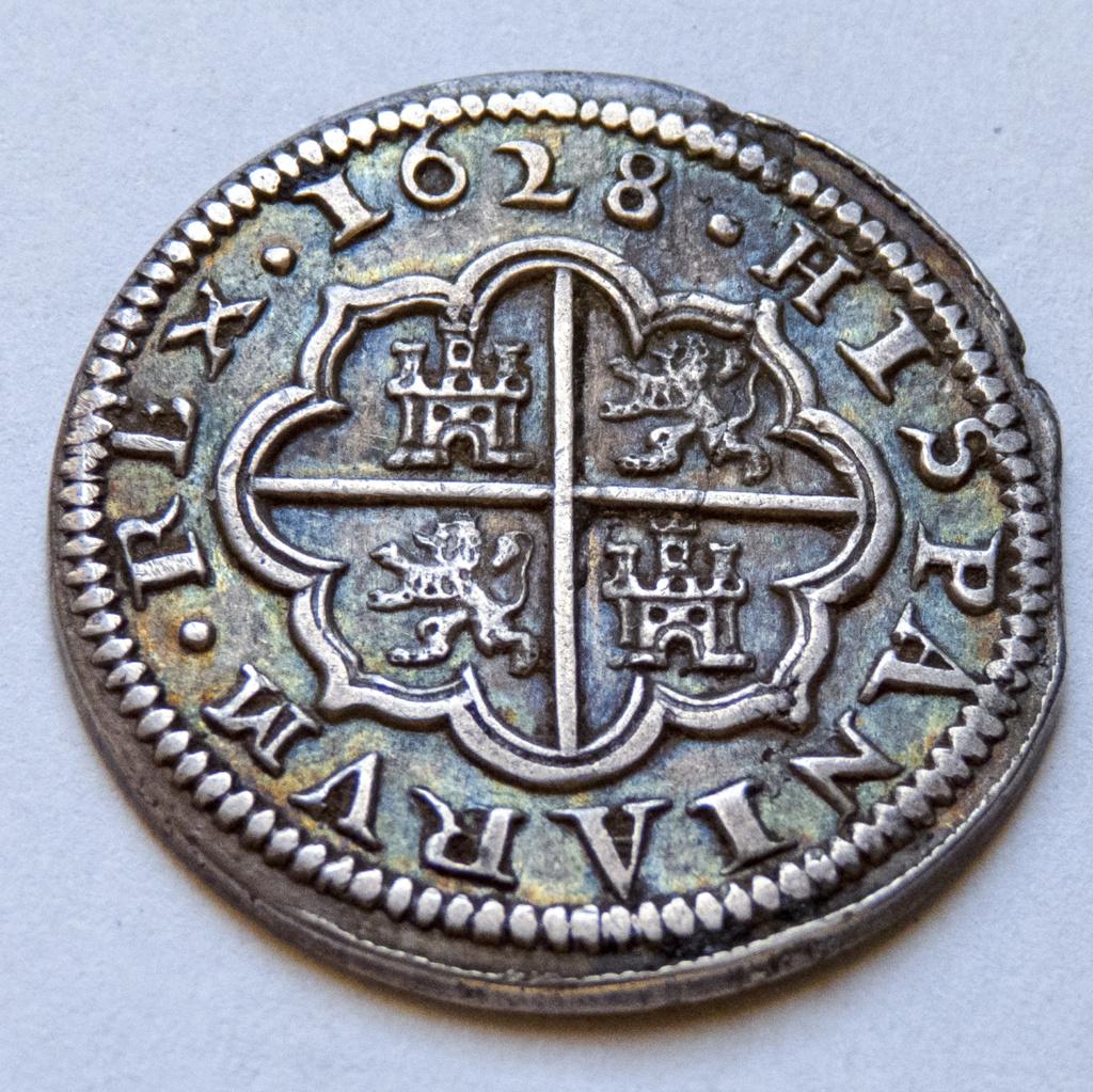 2 reales 1628 Segovia, Felipe IV P1040214