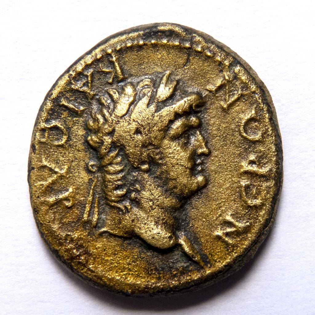 AE19 provincial de Nerón. Sardes (Lidia) P1050013