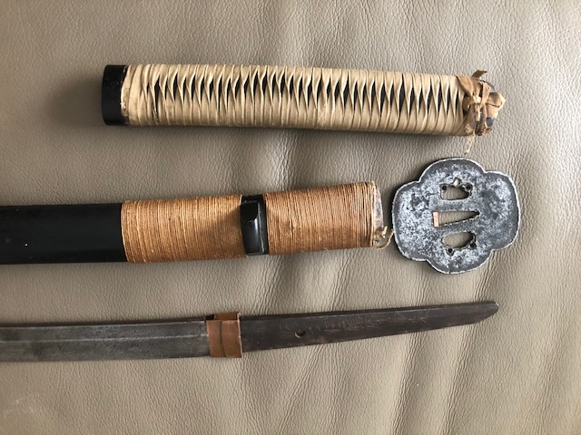 nouvelle acquisition ce vieux katana Img_3812