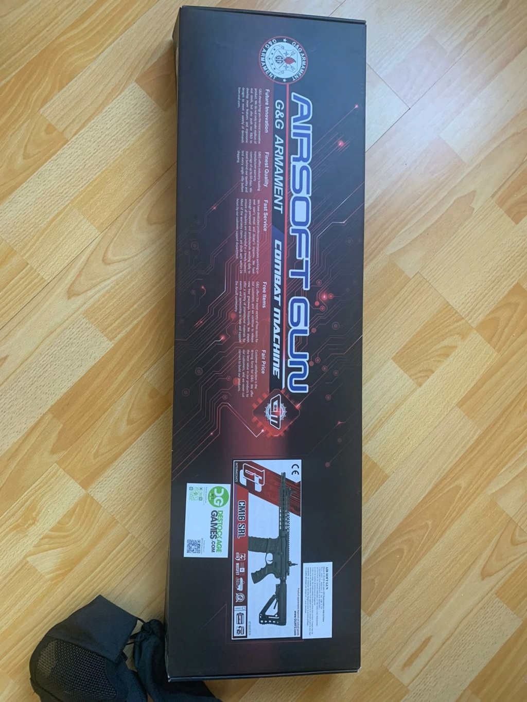 Vente Fusil G&G M4 CM16 SRL + accessoires & protections Whatsa11