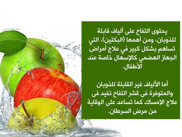 التفاح ومنافعه الصحية  2110
