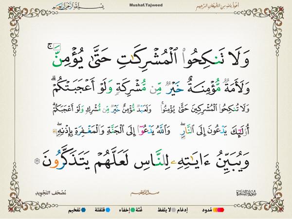 الآية 221 من سورة البقرة الكريمة المباركة Aeoo_221