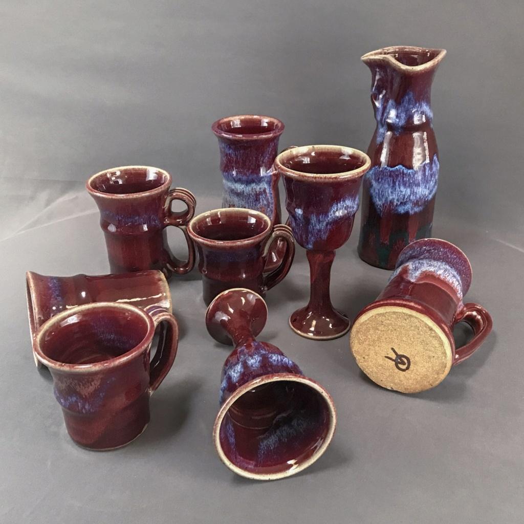 OV mark flambé vase- Not Derek Davis. Ralph Pardington? prob. Ken Merrick Wmp_ke10