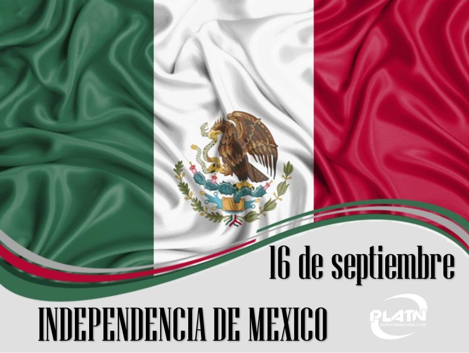 Día de la Independencia de México 16-de-10