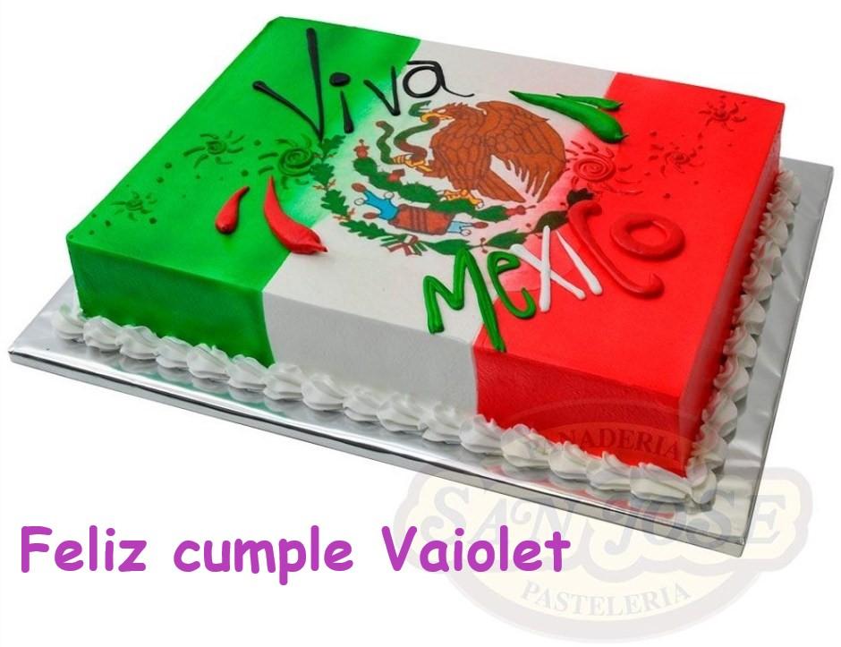 Muchas Felicidades, Violetta!!  Mex0310