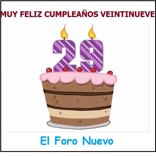 Feliz Cumpleaños 29 Postal11