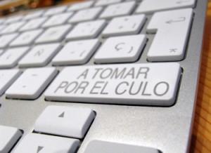 """Un teclado te permite escribir """"a tomar por el culo"""" con una sola tecla Teclad11"""