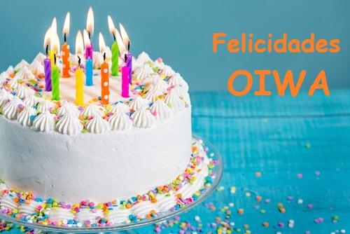 Feliz cumpleaños, Oiwa Torta-10