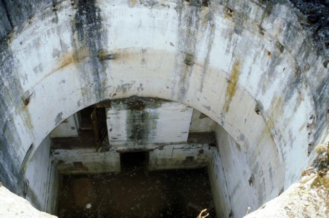 Le site de Karola, patrimoine historique de la deuxième guerre mondiale . Batter41