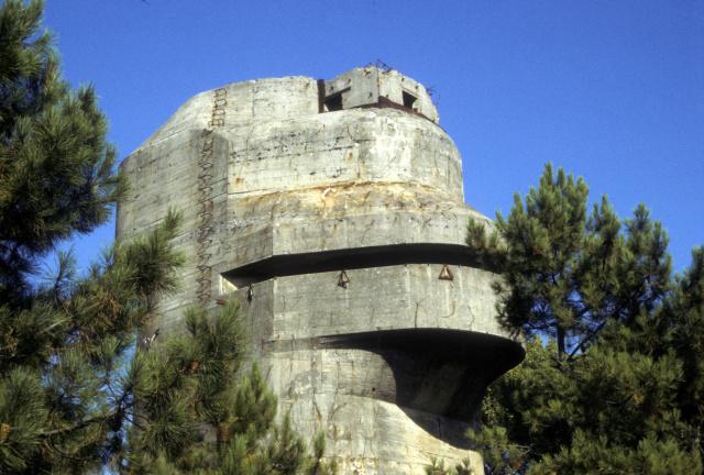 Le site de Karola, patrimoine historique de la deuxième guerre mondiale . Batter43