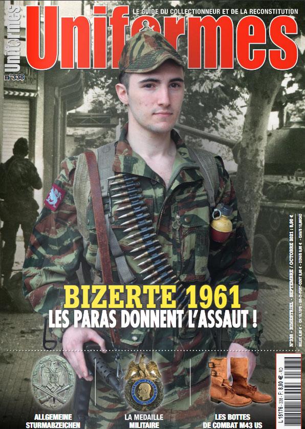 """Bizerte 1961 Revue """"Uniformes"""" Unifor10"""
