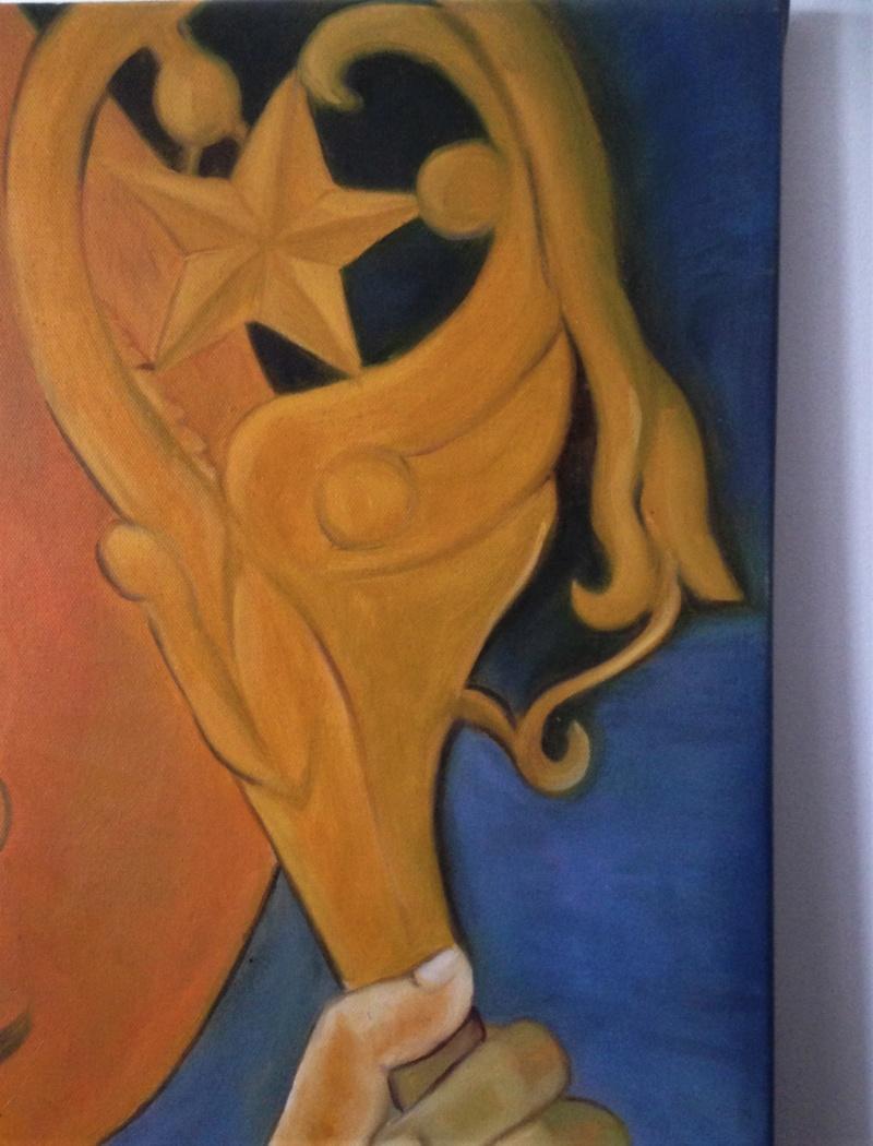 Portrait d'un nabi copie de Sérusier. Img_7714