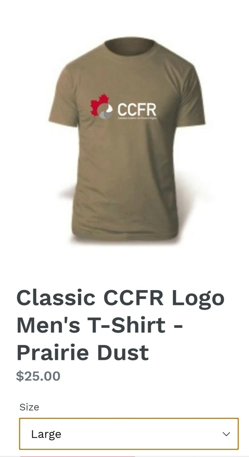 T-shirt CCFR Screen48