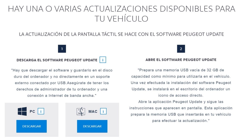 Software Peugeot Update Update10