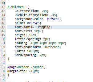No me funciona una font de google fonts Sin_tz12