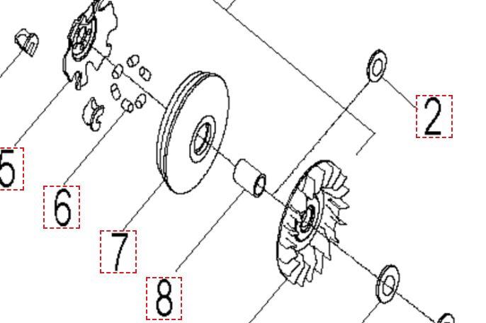 Info courroie Quadro 350 S Captur10