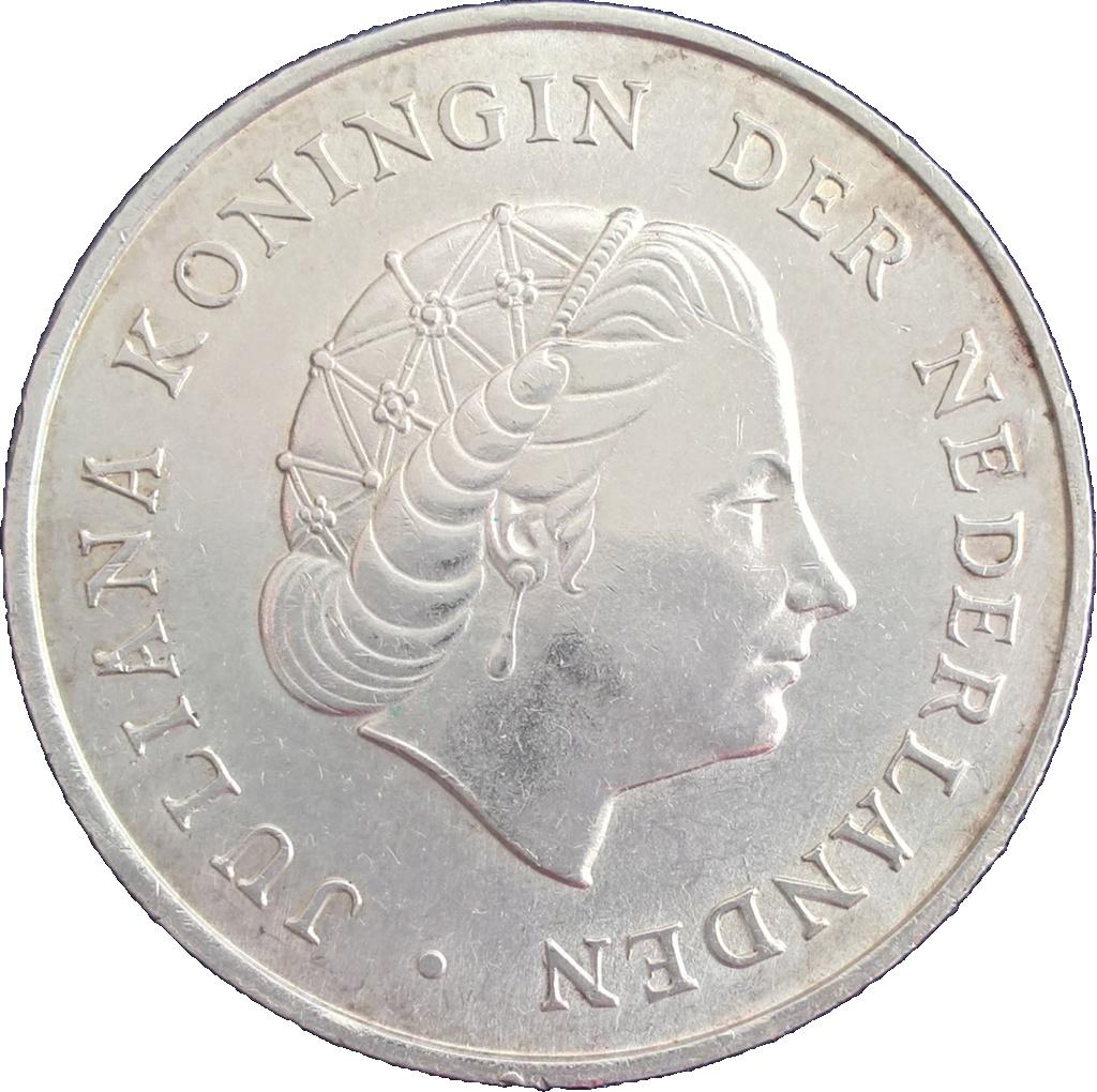 Antillas holandesas 2 1/2 florines 1964 2_y_me10