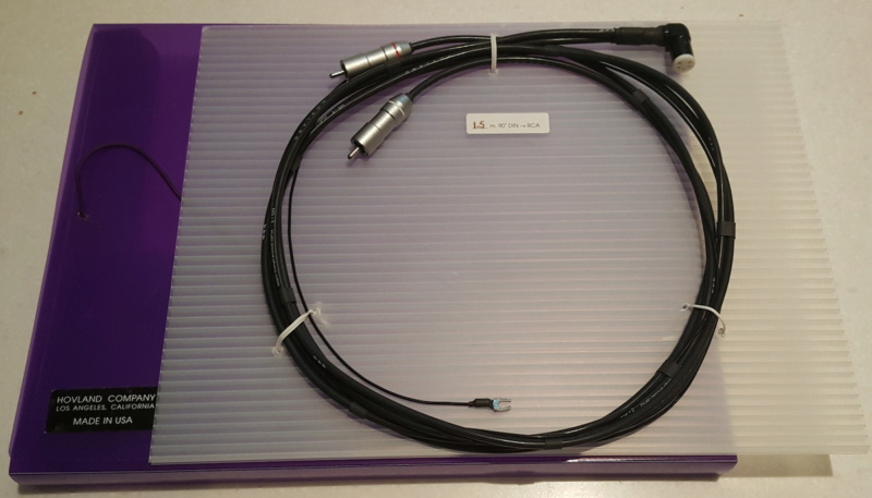 Hovland MG-2 Music Grove Phono Cable Hovlan10