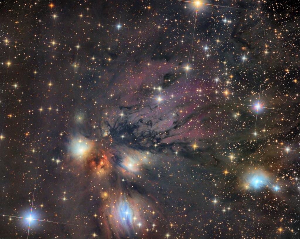 Nébuleuse NGC 2170 Ngc21710
