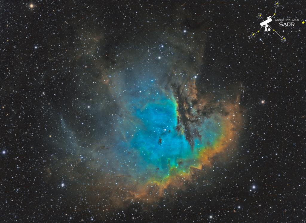 """NGC 281, dites """"Nébuleuse Pacman"""" Ngc28110"""