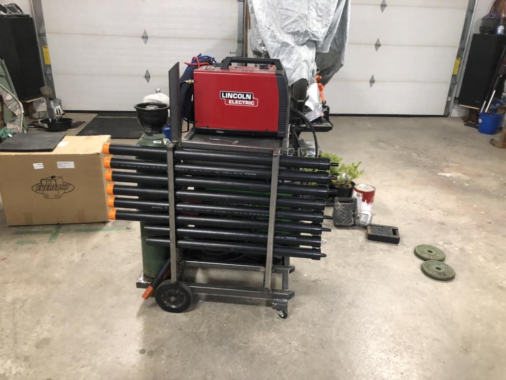 Welding cart fabrication 11a2e810
