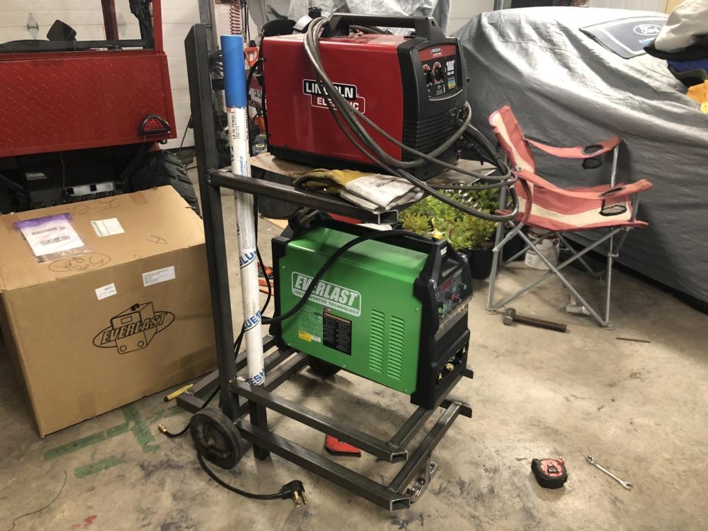 Welding cart fabrication 18200510