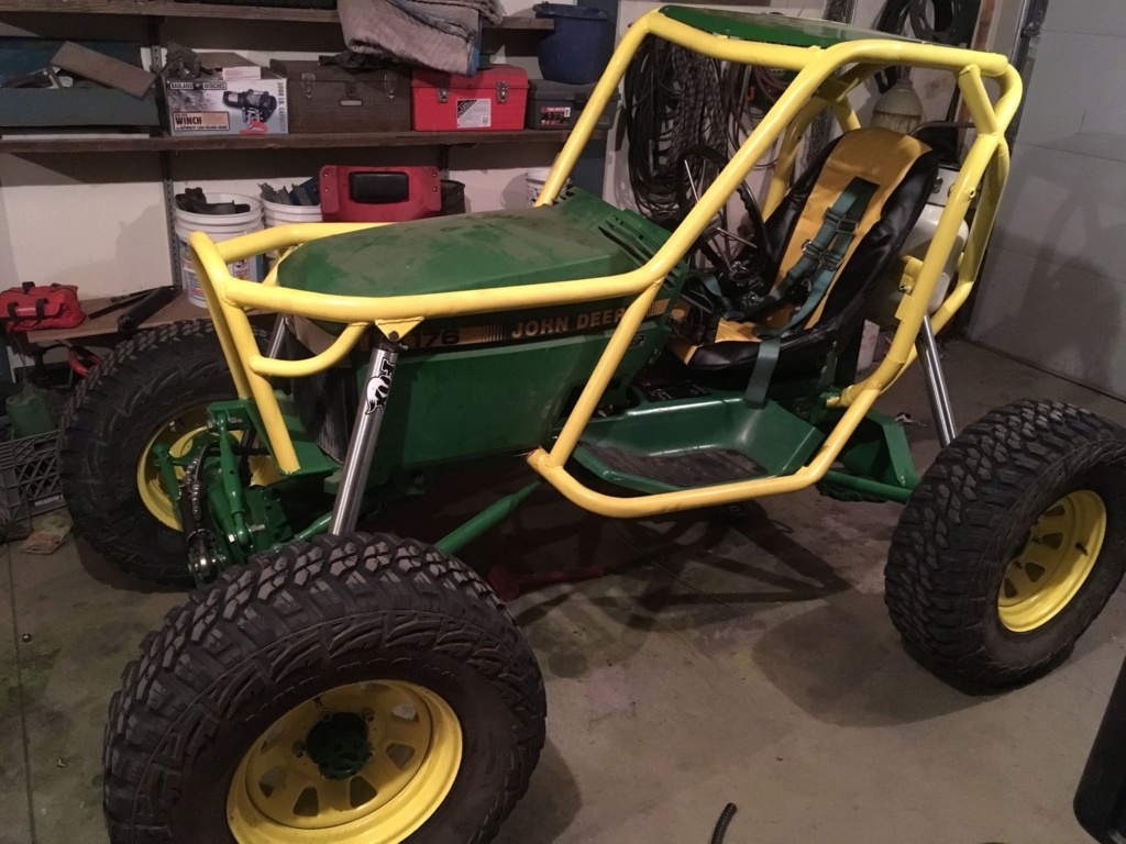 "Build idea, although not sure if it can be called ""lawn tractor""? 18644a10"